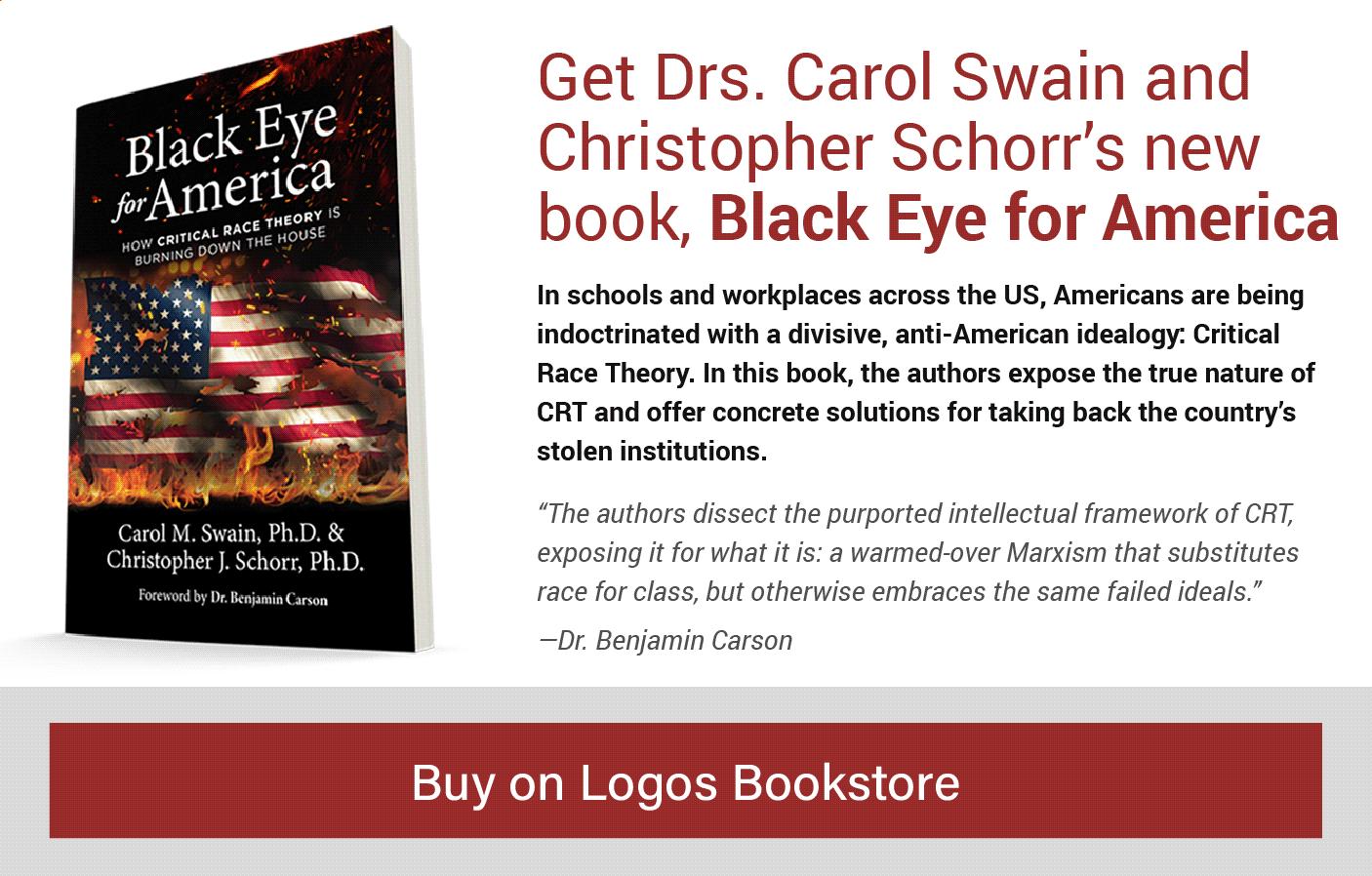 Buy Black Eye for America on Logos Bookstore